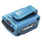 Makita Akku USB Ladeadapter DEBADP05 Adatper 2 x Anschluss 14,4V - 18,0V Li-Ion