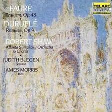 Maurice Duruflé : Requiem Op. 48/requiem Op. 9 (Shaw, Atlanta So, Blegen) CD