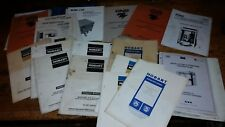 gnb exide hobart fork lift truck battery charger instruction owners manual guide