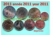 SLOVÉNIE série euro 2011: 8 pièces neuves BU (1 cent à 2 €) - de coffret