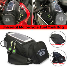 SSPEC Black Motorcycle Bike Fuel Tank Bag Magnetic Outdoor Waterproof Wallet