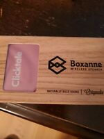 BOXANNE Speaker Wireless Brand New in Box (Pink)
