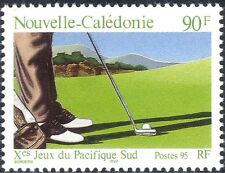 New Caledonia 1995 Sport/Golf/South Pacific Games/Leisure 1v (n30725)