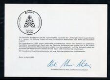 BUND Nr.1602-1606 ESST BONN 9.4.1992 - MINISTERKLAPPKARTE !!! (111600)