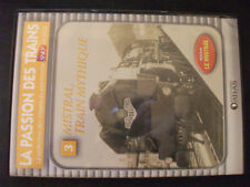 DVD The passion of trains n°3 Mistral train mythical