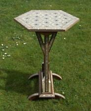 Islamic Morocan Inlaid Folding Hexagonal Table (Various Pick Up Points)