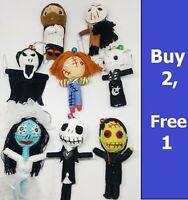 Awesome Horror Doll Keyring Voodoo String Keychain Halloween Gift Jason Chucky