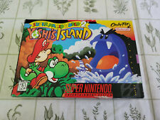 Super Mario World 2 Yoshi's Island - Super Nintendo - SNES - Authentic Box Only!