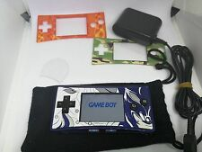 Nintendo Game Boy micro Final Fantasy IV Advance Blue Handheld System + EXTRAS