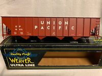 ✅WEAVER UNION PACIFIC 4 BAY HIGH SIDE COAL HOPPER CAR! COKE