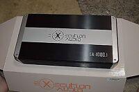 Execution Audio Amplifier -  EA-1000.1 1000 W Watt - Class D Mono Amp