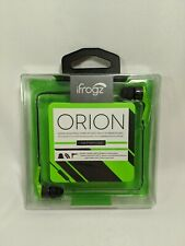 ifrogz orion green in-ear headphones