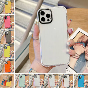 Shockproof Hybrid Bumper Clear Case For iPhone 12 11 Pro Max Xs XR 87 6S Plus SE