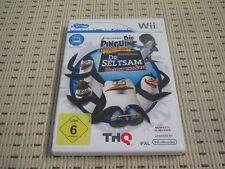 Los pingüinos de madagascar el Dr. extraño regresa para Nintendo Wii OVP