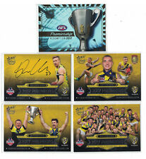 2017 AFL Select Certified - Richmond Tigers Premiership Redemption Card Set #181