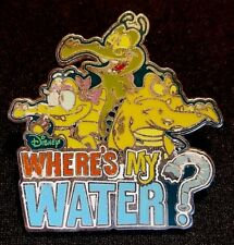 RARE 2012 DISNEY WHERE'S MY WATER? PHONE APP GAME SWAMPY ALLIE & CRANKY PIN