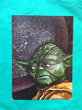 ►►rare POLISH picture STAR WARS Yoda by Artur Krynicki photo poster