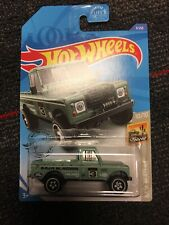 Land Rover Series III Pickup #3 * Green * 2020 Hot Wheels Case A
