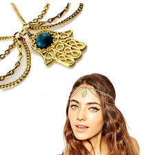 Gypsy Festival Jewellery Metal Head Chain Headpiece Hair Band Headband Headdress