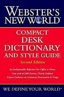 Webster's New World� Compact Desk Dictionary and Style Guide