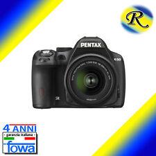 PENTAX Reflex K-50 K 50 K50 NERA + 18-55 WR NOVITA' GARANZIA FOWA 4 ANNI