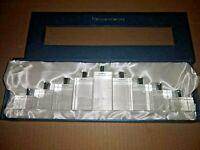 OLEG CASSINI CRYSTAL MENORAH Gift Presentation Box MIB