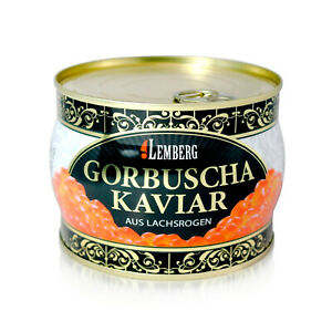 Lachskaviar Gorbuscha 400g Premium Lemberg Wildfang Caviar Икра красная горбуша