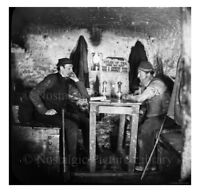 PHOTO 1 MINING SCENE INSIDE  OF CANNOCK CHASE COAL MINE STAFFORDSHIRE c1890