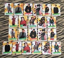 (22) 1989 New Kids On The Block Sticker Card Complete Puzzle Set By Topps