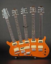 RICK NIELSEN (Cheap Trick) - Five-Neck Orange Monster Replica Guitar~Axe Heaven
