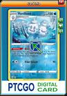 1x Pokemon PTCGO Vanilluxe 047/189 Rev Holo Rare Bitter Cold Online Fast In-Game
