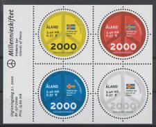 Aland 2000 Block 4  Ausgabe Jahrtausendwechsel postfrisch