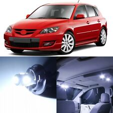 8 x Xenon White Interior LED Lights Package For 2004 - 2009 Mazda 3 +TOOL
