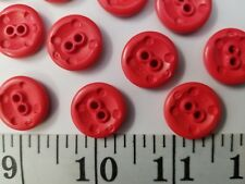 New listing Vintage Buttons Set Of 12 Hot Pink Tuz1300 Last!