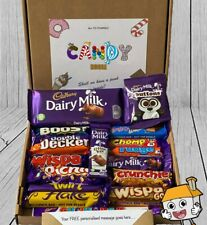 CADBURY Chocolate Hamper Big GIANT Box Present Birthday Personalised Gift Sweet