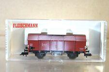 FLEISCHMANN 5210 DB Klappdeckelwagen GüTTERWAGEN 9410 161 WEATHERED PROFI my
