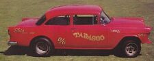 "Decals - Blair's Speed Shop ""Tabasco"" D-Gasser '55 Chevy"