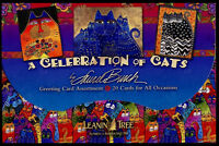 Leanin Tree Cats Greeting Cards Assortment  20 Box Set  A CELEBRATION OF CATS