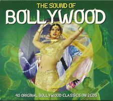 THE SOUND OF BOLLYWOOD - 2 CD BOX SET - 40 ORIGINAL BOLLYWOOD CLASSICS