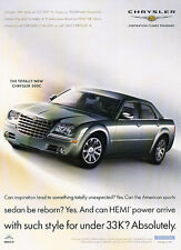 2005 Chrysler 300C  Hemi - Classic Vintage Advertisement Ad A93-B