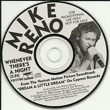 Loverboy MIKE RENO Whenever There's a Night PROMO Radio DJ CD Single MINT USA