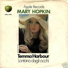 "Mary Hopkin - Temma Harbour / Lontano Dagli Occhi - Apple 7"" 45 PS"