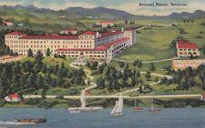 Postcard Belmont Manor Bermuda