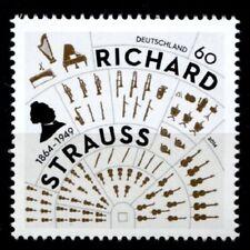 Komponist, Dirigent  Richard Strauss (1864-1949). 1W. BRD 2014