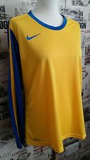 Nike Junior Youth Soccer Jersey Long Sleeve Football Shirts Training Top size XL