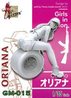 ZLPLA Genuine 1/35 Resin Figure Oriana Girls in Action Assembly Model Kit GM-015