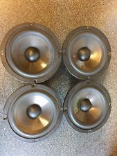 "4 X Audax AP130Z0 Bass Midrange 5 1/4"", HDA Cone, 6 Ohms, Shielded. Speakers"
