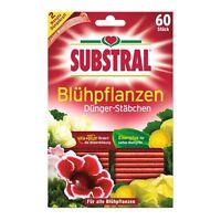 Substral Dünger-Stäbchen für Blühpflanzen - 60 Stück - Pflanzen Dünge-Sticks