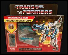 Transformers Headmaster Retro G1 Reissue Brainstorm Heroic Autobot In Hand New