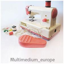 50er Jahre Kinder Nähmaschine Crystal Sewing Machine Japan Blech Spielzeug